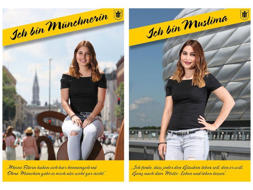 Abb. 1: Postkartenaktion der Fachstelle für Demokratie, München